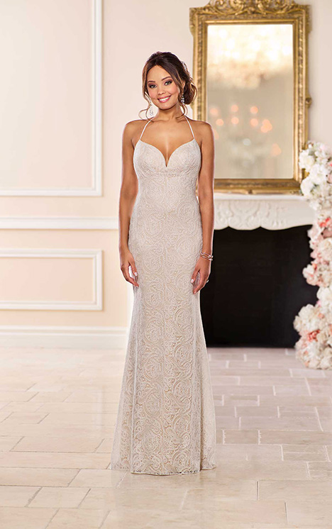 6687 Wedding                                          dress by Stella York