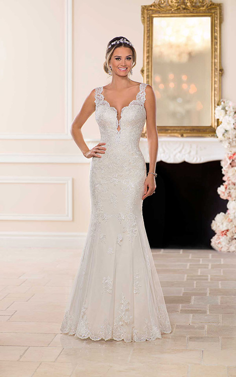 6695 Wedding                                          dress by Stella York