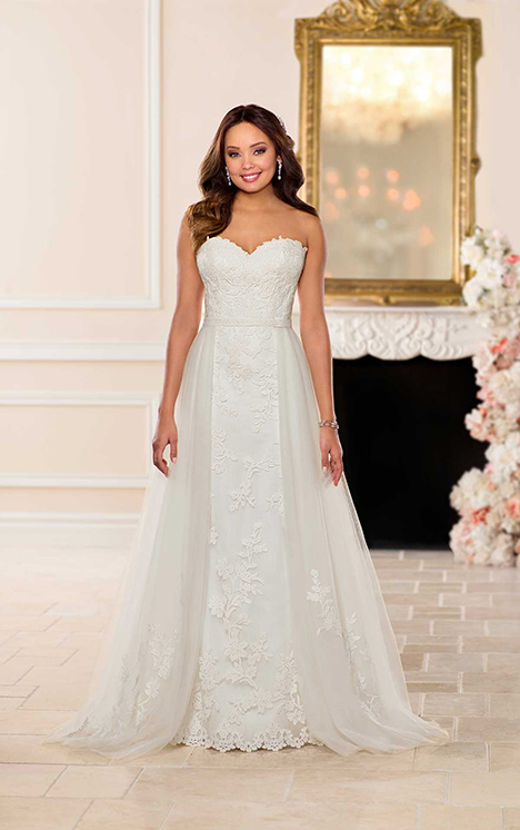 6738 (+ overskirt) Wedding                                          dress by Stella York
