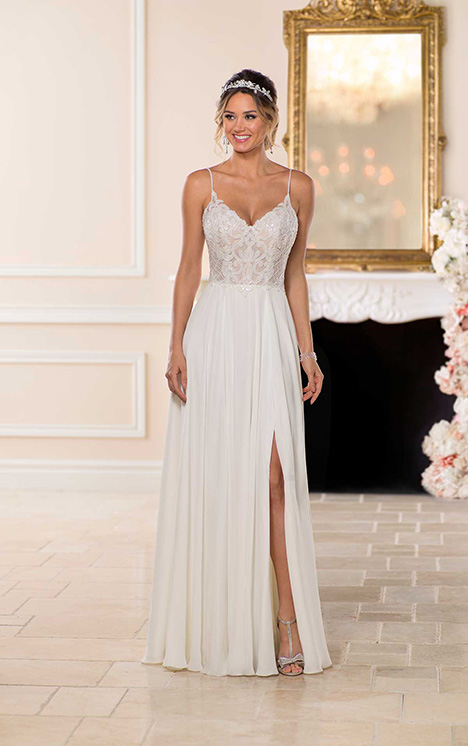 6747 Wedding                                          dress by Stella York
