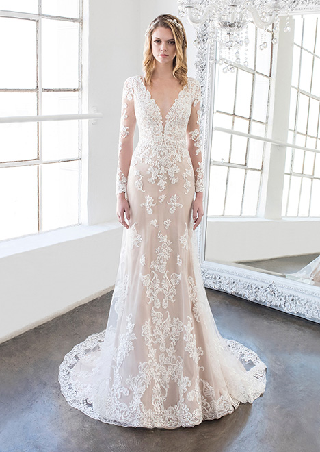 Keaton (8482) Wedding dress by Winnie Couture : Blush