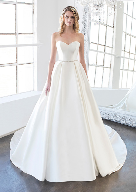 Kennedy (8476) Wedding                                          dress by Winnie Couture : Blush