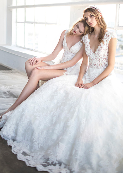 Leilani (8472) Wedding                                          dress by Winnie Couture : Blush