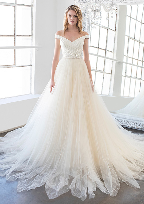 Magnolia (8474) Wedding                                          dress by Winnie Couture : Blush