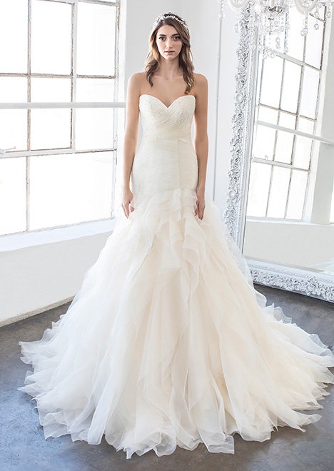 Opal (8481) Wedding                                          dress by Winnie Couture : Blush