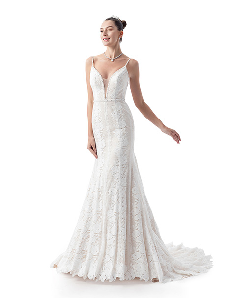VE8390 Wedding                                          dress by Venus Bridal