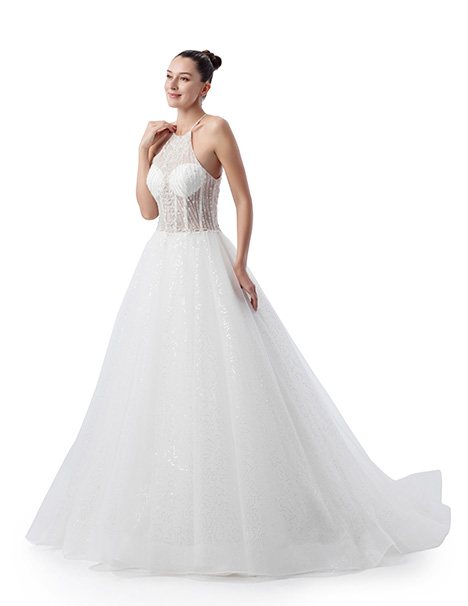 VE8393 Wedding                                          dress by Venus Bridal