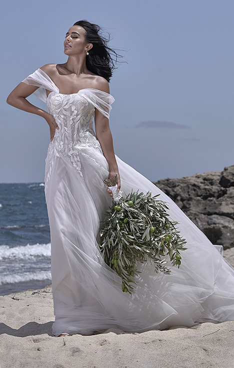 CZ 2472-1X Wedding                                          dress by Cizzy Bridal