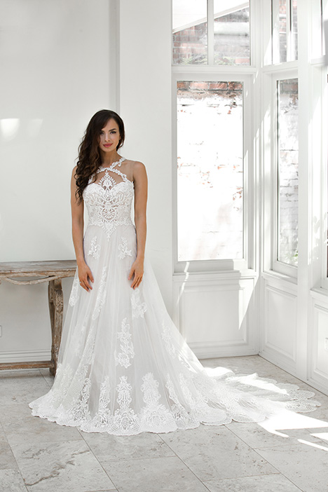 ZB 6041-1 gown from the 2018 Zavana Bridal collection, as seen on dressfinder.ca