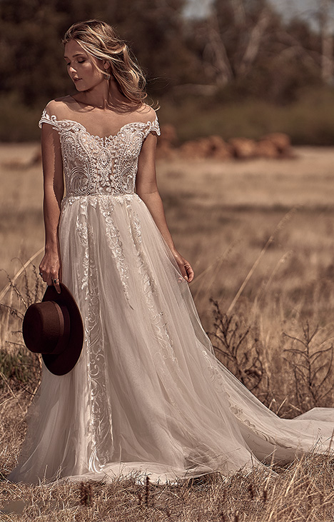 WA 6043-1Z Wedding dress by White April