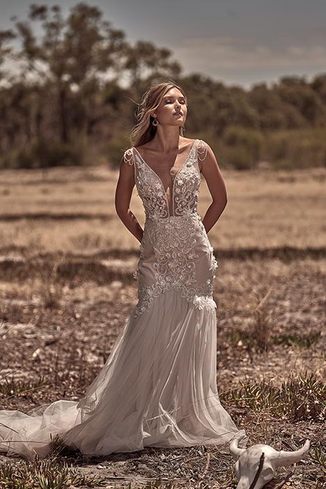 WA 6055-1Z Wedding                                          dress by White April