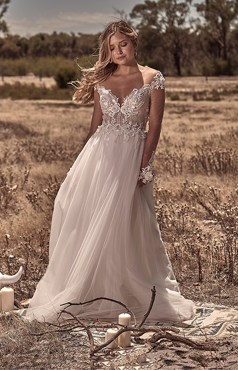 WA 6061-1Z Wedding                                          dress by White April