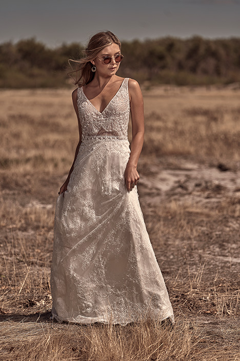 WA 6064-1Z Wedding                                          dress by White April
