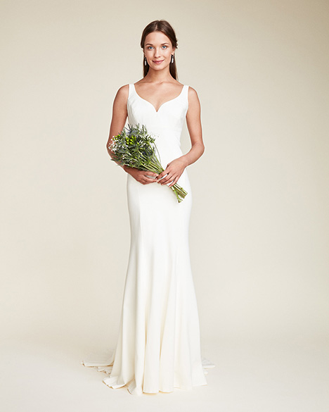 Abigail Wedding                                          dress by Nicole Miller