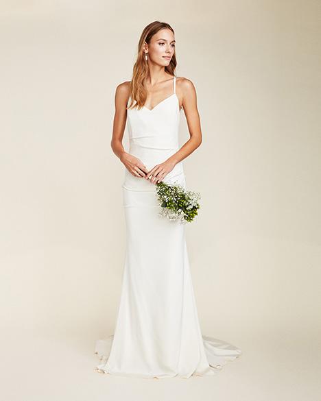 Celine Wedding                                          dress by Nicole Miller