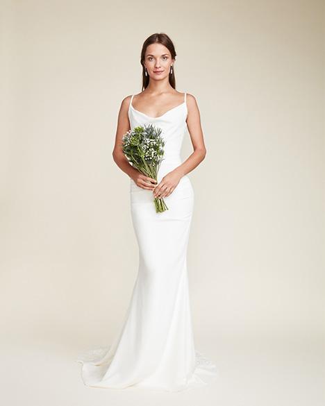 Hampton Wedding                                          dress by Nicole Miller