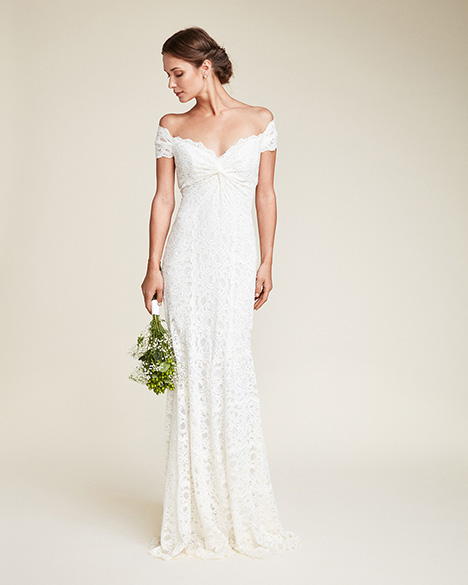 Juliet Wedding                                          dress by Nicole Miller
