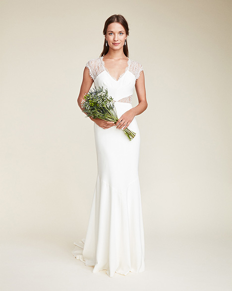 Kendall Wedding                                          dress by Nicole Miller