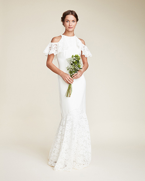 Magdalena Wedding                                          dress by Nicole Miller