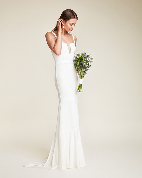 Regina Wedding                                          dress by Nicole Miller