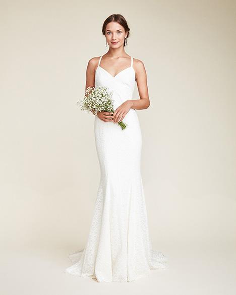 Violet Wedding                                          dress by Nicole Miller