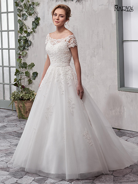 MB3016 Wedding                                          dress by Mary's Bridal
