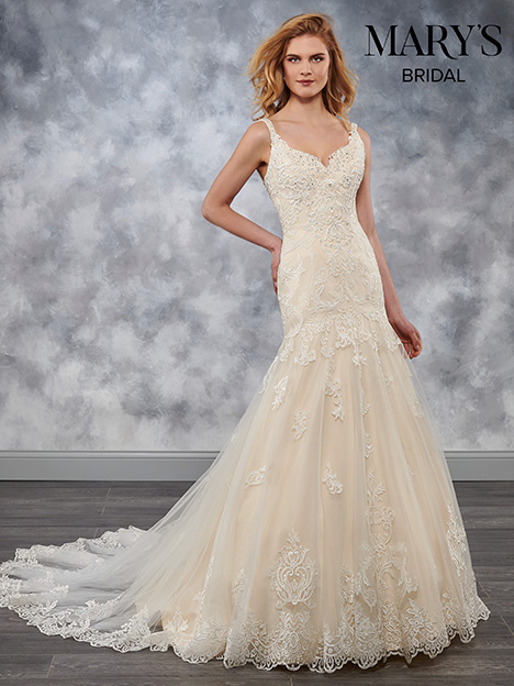 MB3030 gown from the 2018 Mary's Bridal collection, as seen on dressfinder.ca