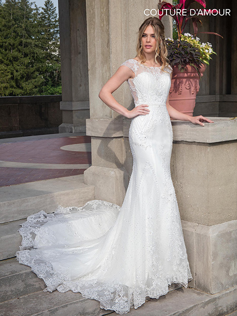 MB4001 Wedding dress by Mary's Bridal: Couture D'Amour