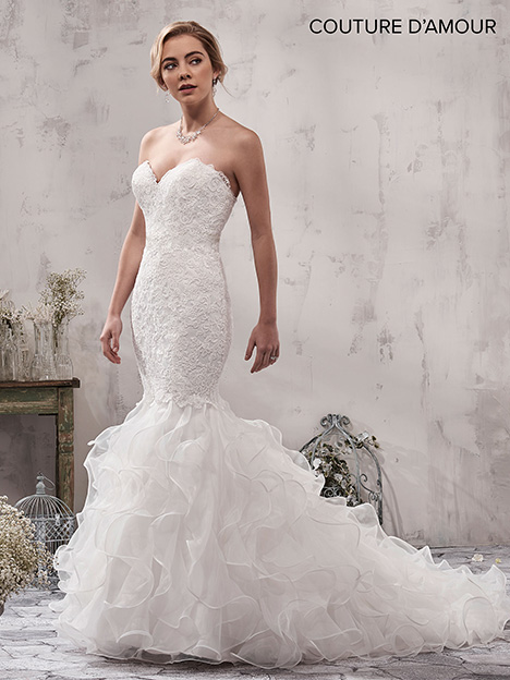 MB4015 Wedding                                          dress by Mary's Bridal: Couture D'Amour