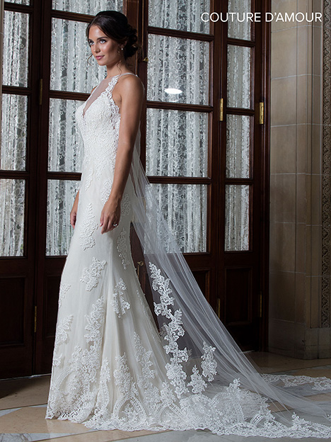 MB4017 Wedding                                          dress by Mary's Bridal: Couture D'Amour