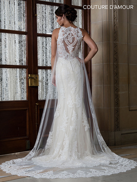 MB4017 (back) Wedding                                          dress by Mary's Bridal: Couture D'Amour
