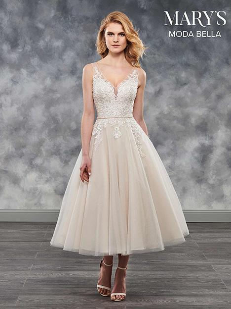 MB2023 Wedding                                          dress by Mary's Bridal: Moda Bella