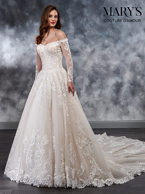 MB4022 Wedding dress by Mary's Bridal: Couture D'Amour