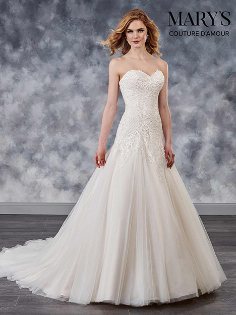 MB4023 Wedding                                          dress by Mary's Bridal: Couture D'Amour