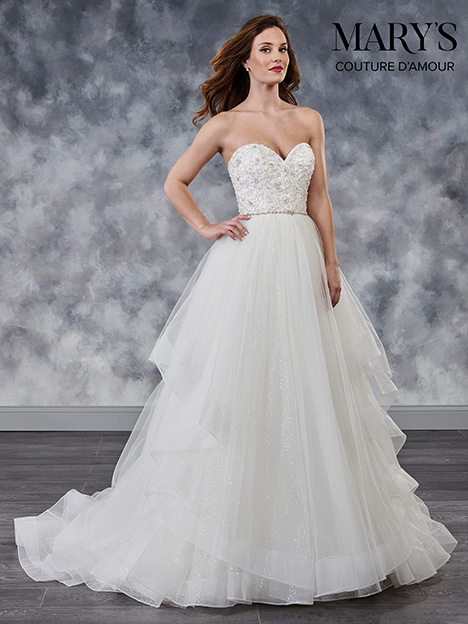 MB4024 Wedding                                          dress by Mary's Bridal: Couture D'Amour