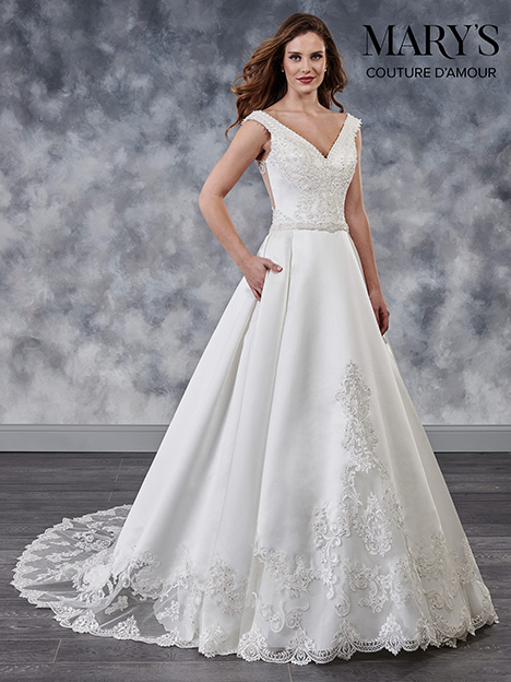 MB4026 Wedding dress by Mary's Bridal: Couture D'Amour