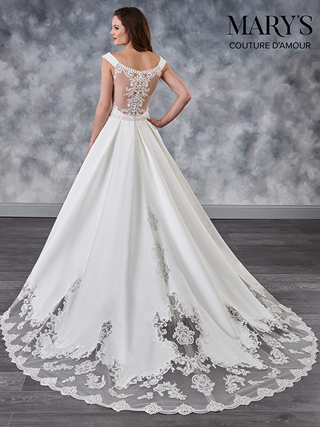 MB4026 (back) Wedding dress by Mary's Bridal: Couture D'Amour