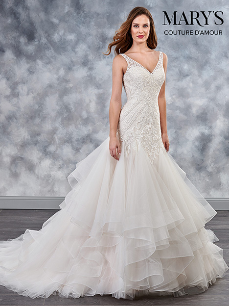 MB4030 gown from the 2018 Mary's Bridal: Couture D'Amour collection, as seen on dressfinder.ca