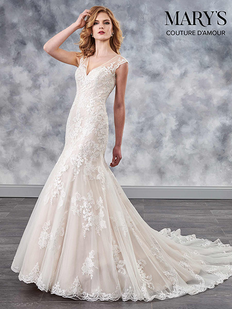 MB4035 Wedding                                          dress by Mary's Bridal: Couture D'Amour