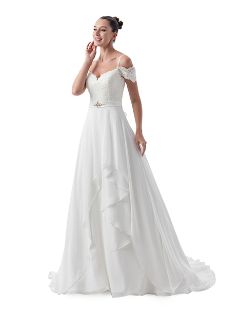AT4707 Wedding                                          dress by Venus Bridal: Angel & Tradition