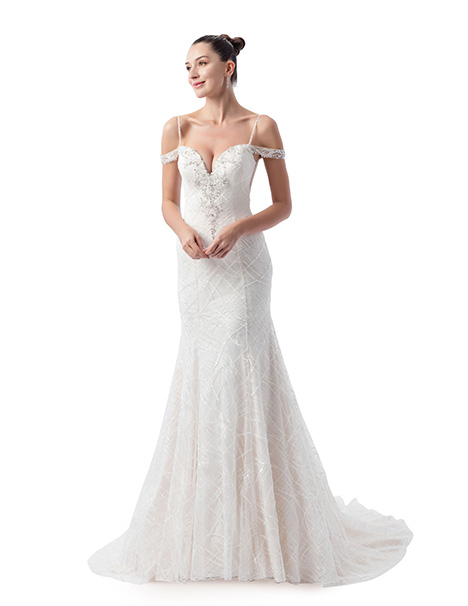 AT4712 Wedding                                          dress by Venus Bridal: Angel & Tradition