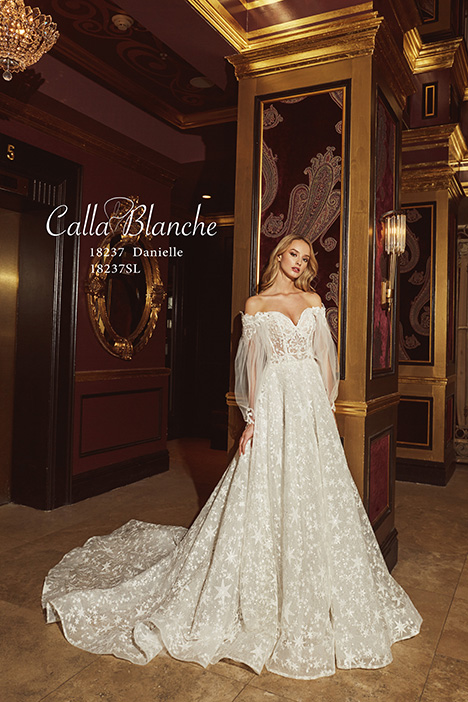 18237SL Wedding                                          dress by Calla Blanche