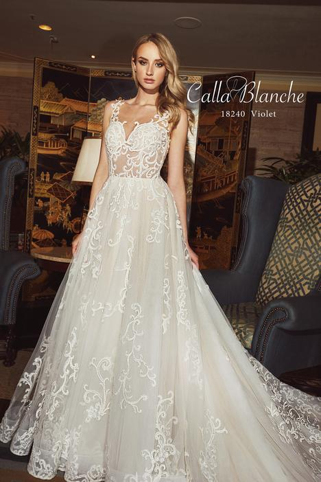 18240 Wedding                                          dress by Calla Blanche