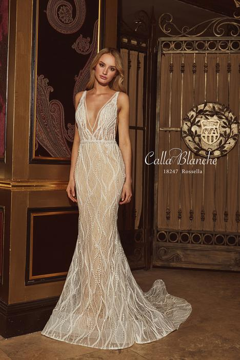 18247 (+ cape) Wedding                                          dress by Calla Blanche