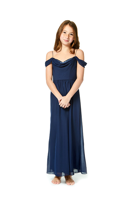 JR1877 Bridesmaids                                      dress by Bari Jay: Junior Bridemaids