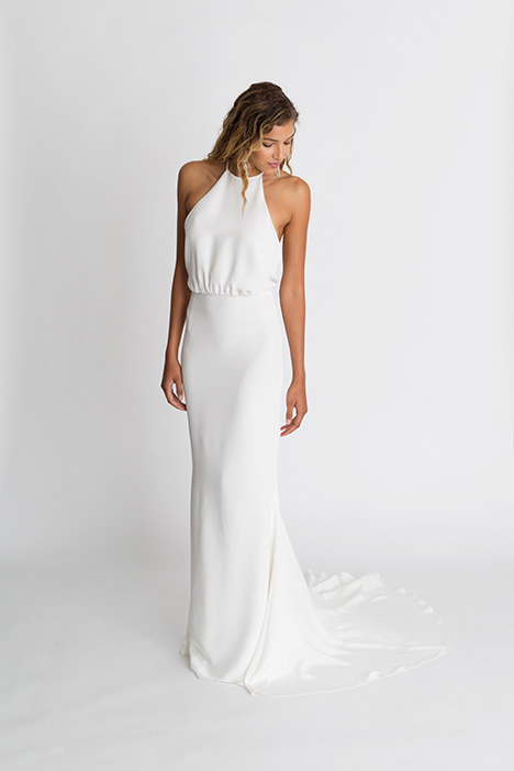 Nico Wedding                                          dress by Alexandra Grecco