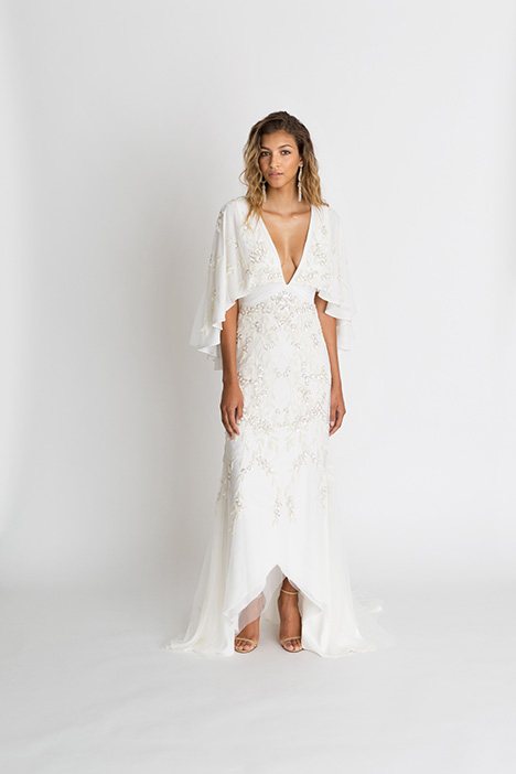 Sawyer Wedding                                          dress by Alexandra Grecco