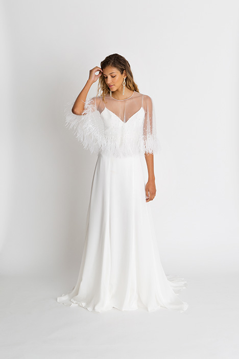 Wren Wedding                                          dress by Alexandra Grecco