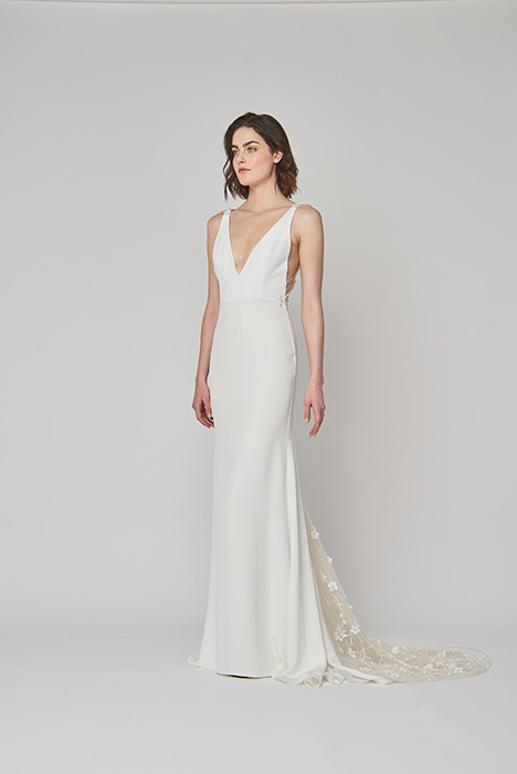 Stevie Wedding                                          dress by Alexandra Grecco