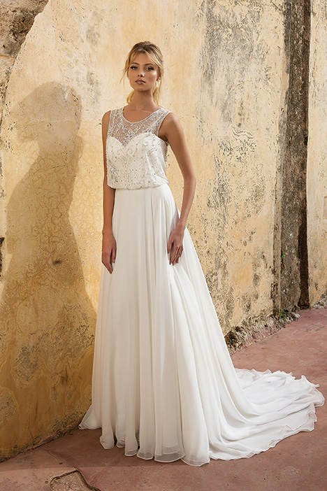 88039 Wedding                                          dress by Justin Alexander